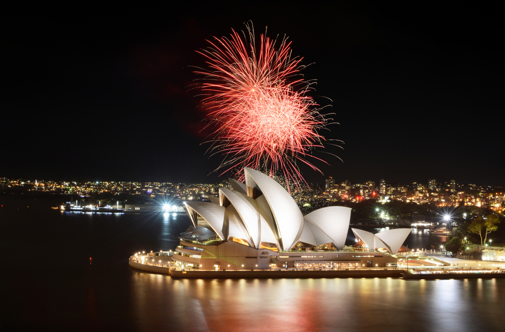 Sydney New Years Fireworks Display