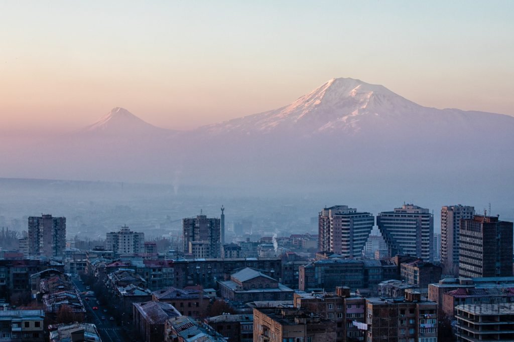 Yaravan City, Mount Ararat, Armenia