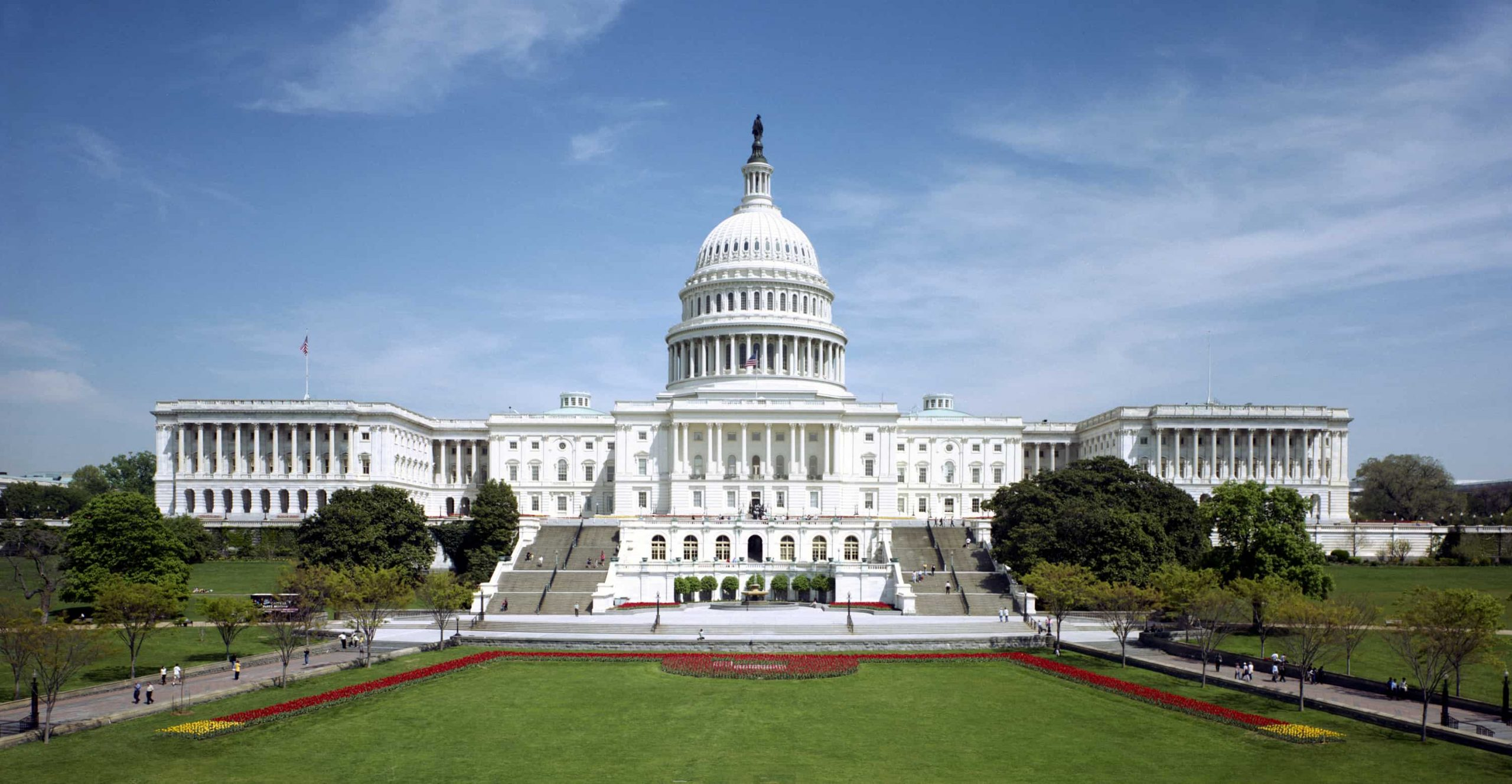 The Capitol, twhere the United States Congress meets